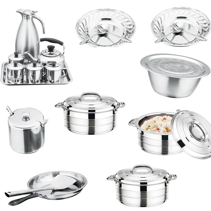 pots wholesale and Pans Set, Induction Cookware Sets, Chemical-Free Kitchen Cooking Set, Saucepan, Frying Pan, Stock Pot, thermal jug,Dishwasher Safe