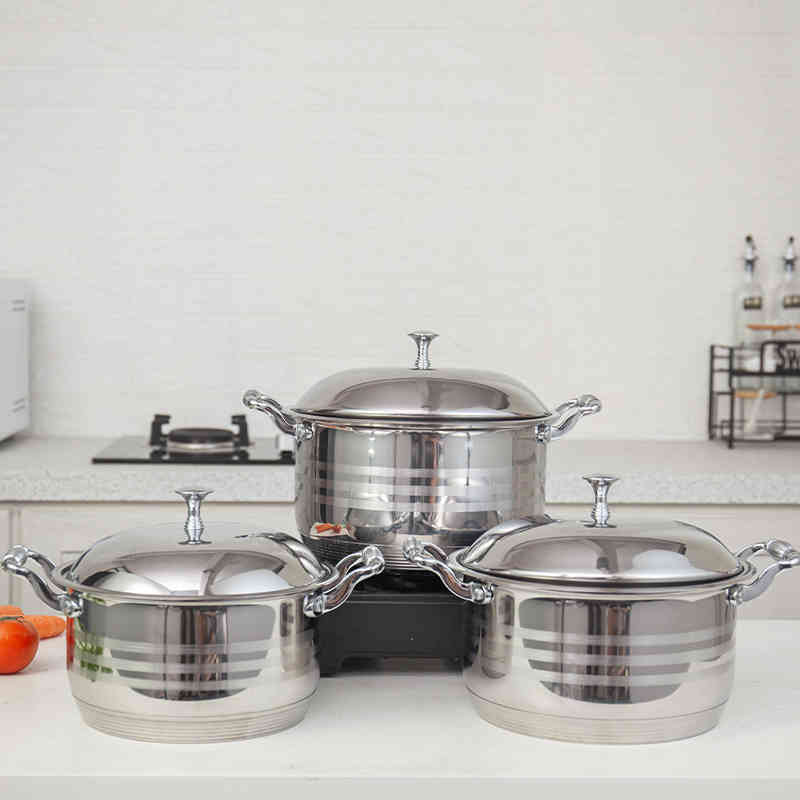 High quality stainless steel cooking pot set