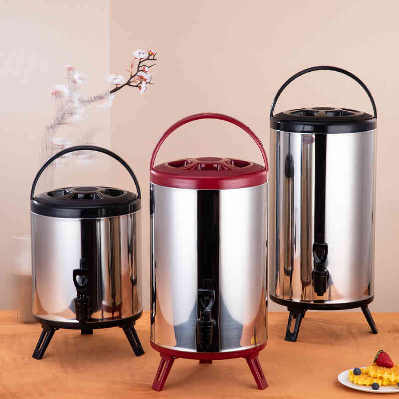 new design milk tea barrel bucket