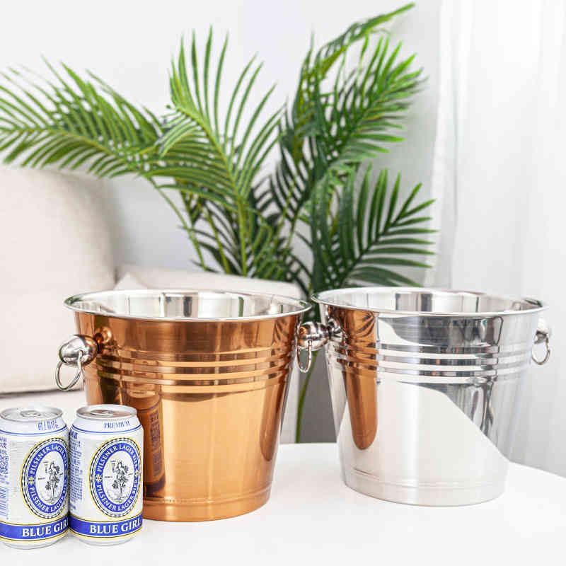 top fashion stainless steel bucket beer